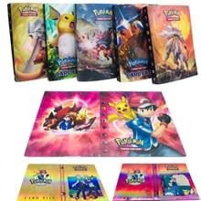 Коллекция карточки с покемонами альбом книга мультфильм аниме Карманный Монстр Пикачу 240 шт держатель альбомная игрушка для детей подарок