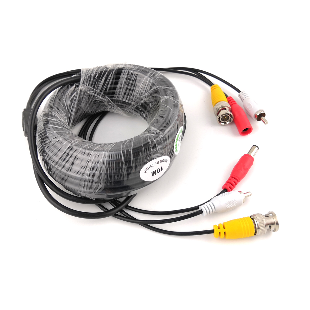 BNC CCTV Cable Coaxial 5M 10M Security Camera Video Audio Power BNC Cable For AHD CVI TVI CCTV DVR Surveillance System