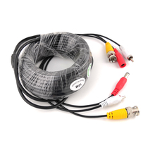 цена на BNC CCTV Cable Coaxial 5M 10M Security Camera Video Audio Power BNC Cable for AHD CVI TVI CCTV DVR Surveillance System