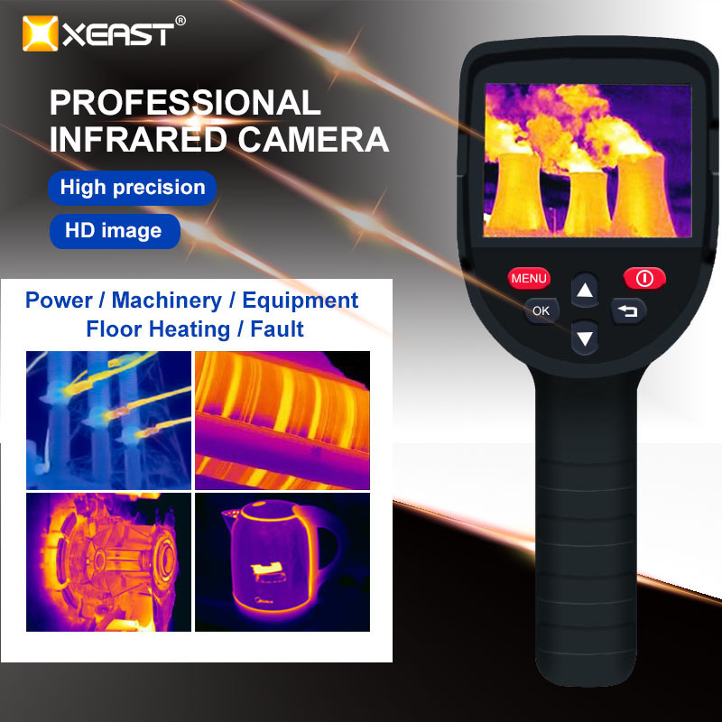 XEAST HT-19/XE-26 220x160 High-Resolution Infrared Thermal Imager with USB Interface and Built-in 4GB SD Card 16