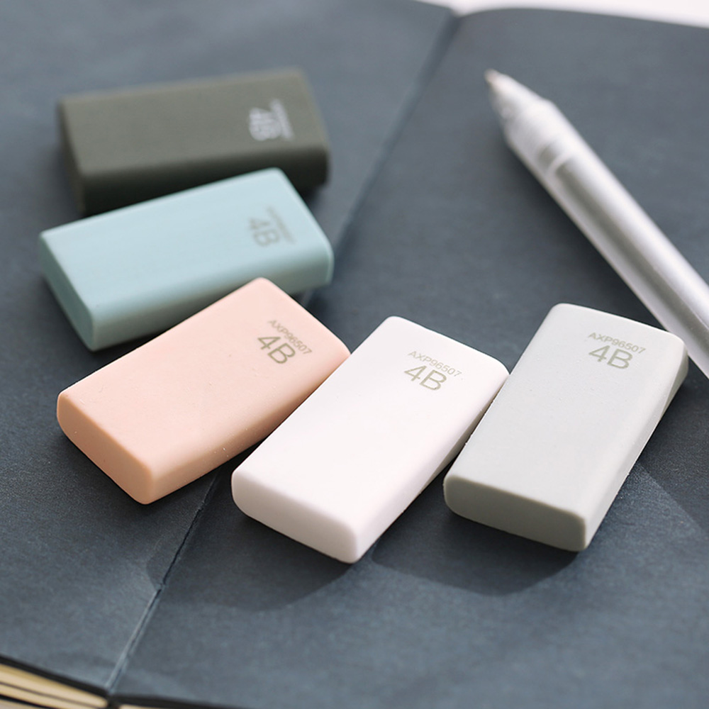 1Pcs 4B Pencil Eraser Art Sketch Painting Dedicated Student Stationery Offices School Supplies Eraser New Kids Gifts