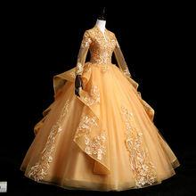 2020 милые платья для девушек 16 с длинным рукавом quinceanera