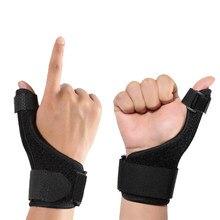 Supporto per dito a compressione regolabile Protector Brace sport medici polso pollici mani artrite Splint supporto protezione protettiva