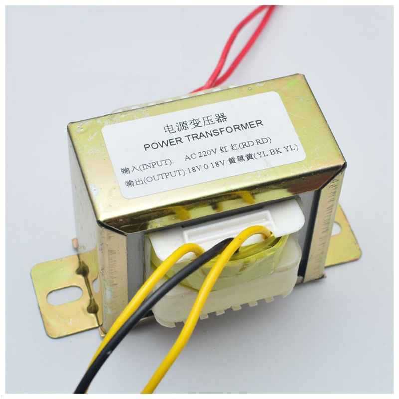 18V 50W Pure Copper AC Double  Power Transformer For LM1875 Power Amplifier