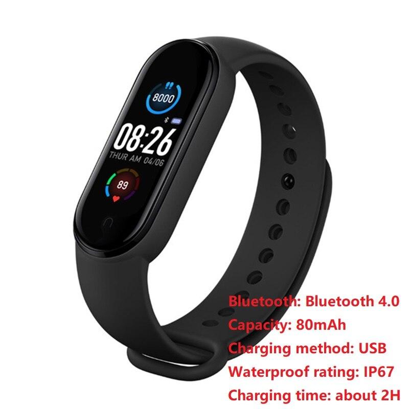 Новинка M5 смарт-браслет Bluetooth 4,0 Смарт-часы портативный фитнес-трекер IP67 водонепроницаемый браслет Браслет Шагомер монитор Лидер продаж