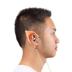 Image 3 - 1 pièces Elf oreilles Bluetooth casque Microphone remplacement écouteurs dans loreille Cosplay fée cadeaux créatifs pour les enfants