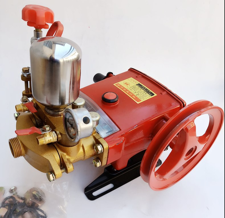 High-pressure Three-cylinder Plunger Pump For Type 26 Pesticide Sprayer