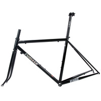 TSUNAMI 520 chrome molybdenum steel Bicycle Frame Road Bike Frame + full carbon front Fork or steel Fork