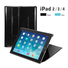 Case for iPad 2 3 4 A1460 Case Back Folio Stand with Auto Sleep/Wake Up PU Leather Smart Cover for iPad 3 4 2 Case все цены