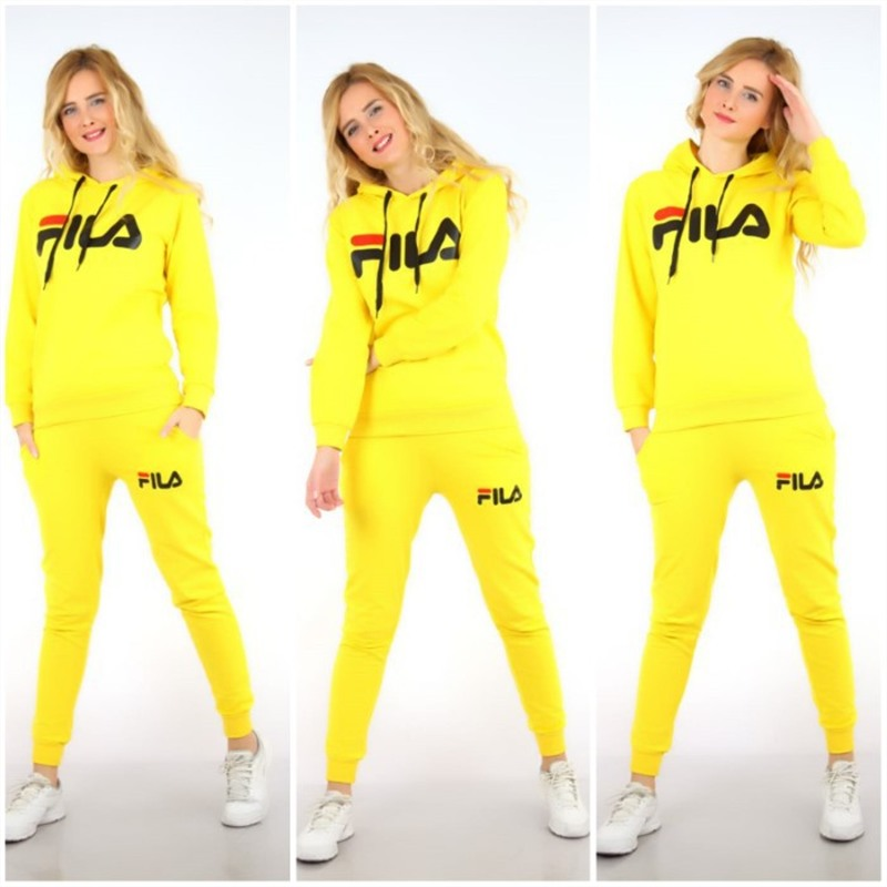 Plus Size 2019 New Letter Print Two Piece Set Sportswear Tracksuit Women Hooded Conjunto Feminino Sweatshirt Set Outfits