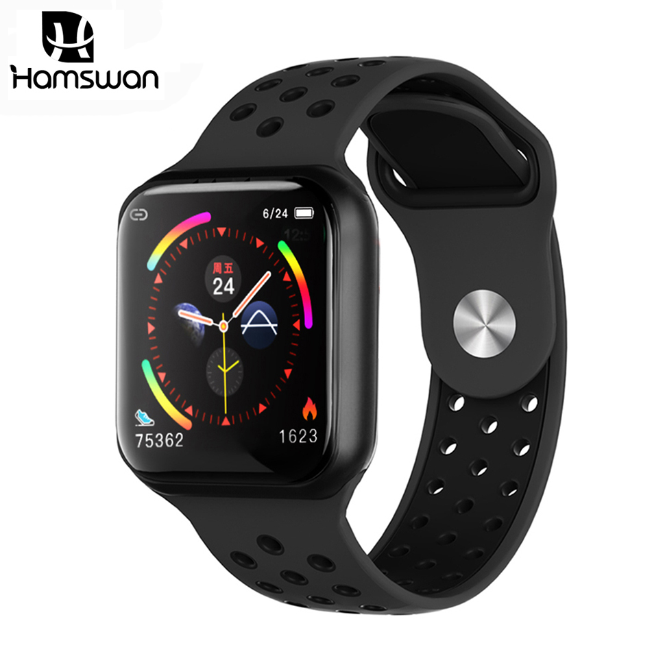 Hamswan F9 Sport Smart Watch Men Women Heart Rate Monitor Blood Pressure Pedometer Fitness Waterproof SmartWatch PK B57 S226 P70
