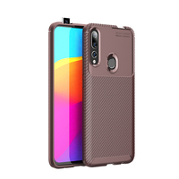 style protective For Huawei Y9 Prime 2019 Case Business Style Silicone Shell Coque TPU Back Phone Cover Protective Case For Huawei Y9 Prime 2019 (4)