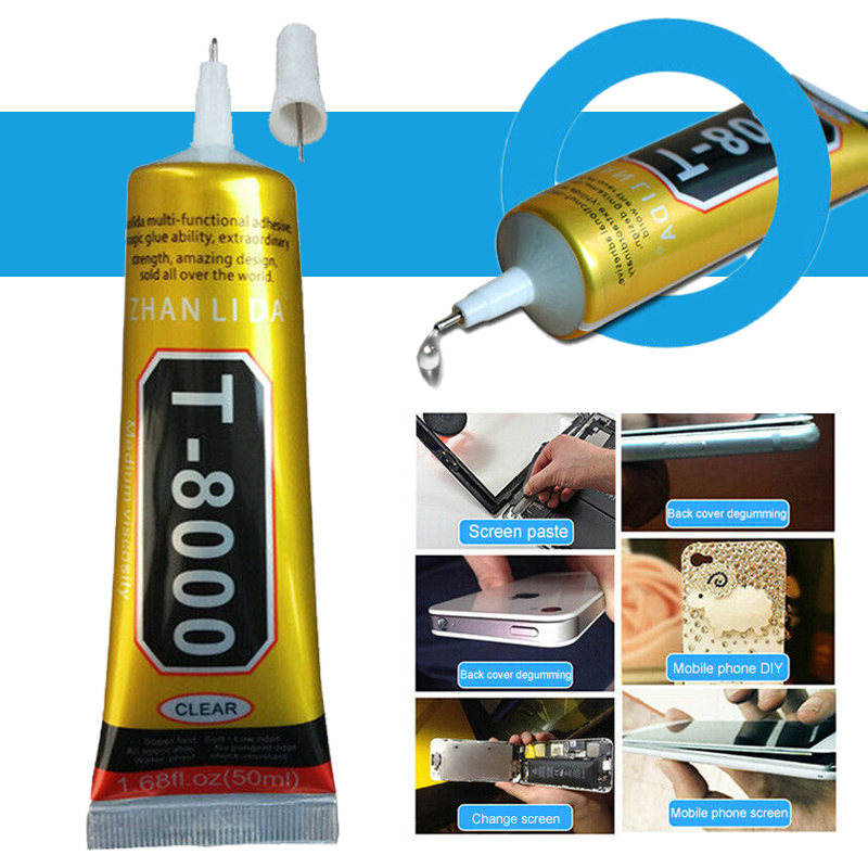 15ml <font><b>T8000</b></font> Universal Glue Super Adhesive for DIY Cell Phone Touch Screen Repair Frame Fixing Sealant Jewelry Craft Adhesive Glue image