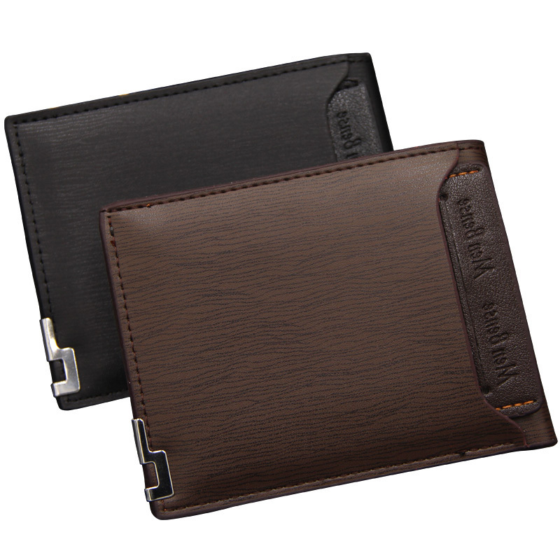 High Quality Men's Leather Wallet Short Men's Credit Card 2020 Top Vintage Fashion Brand Business Male Purse