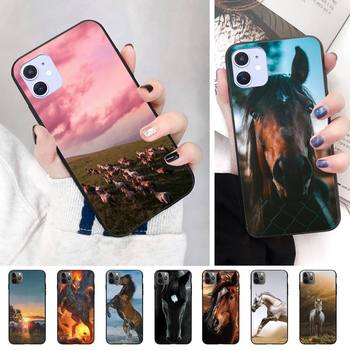 Fashion Horse Mercedes Phone Case For Iphone 11 Pro Max Xr Xs Max 6S 8 7 Plus Tpu Phone Cases image
