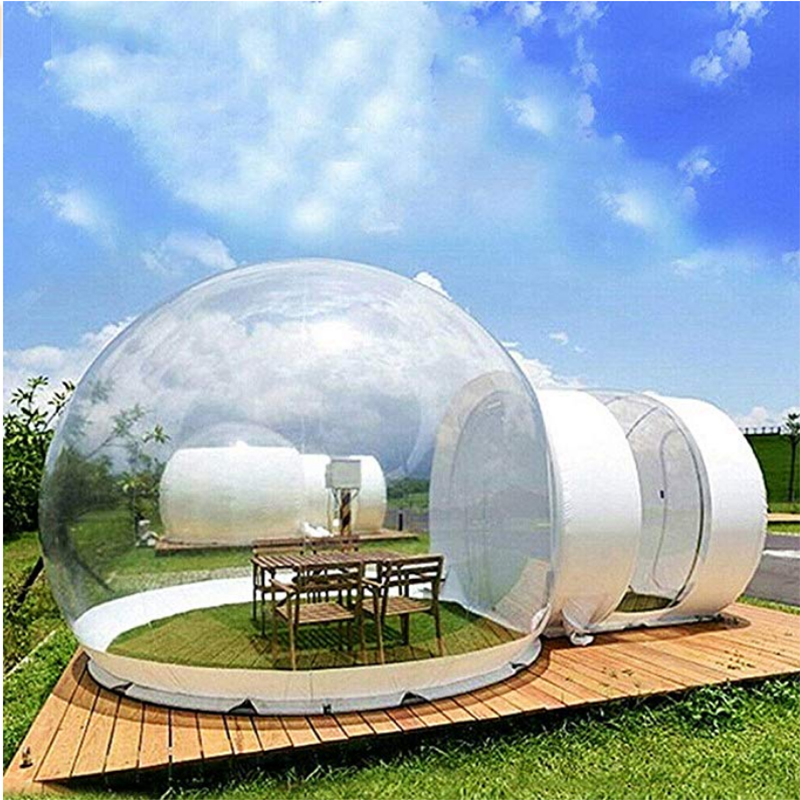 Inflatable Transparent Tent House,Inflatable Bubble Tent ,Rainproof Foam Air Dome Tent, Suitable for Outdoor Camping, Backyard