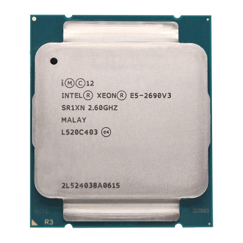 Intel Xeon E5 2690 V3 E5 2690V3 E5-2690V3 procesador 2,6 Ghz 12 Core 30MB Socket LGA 2011-3 CPU adecuado X99 placa base En Stock UMIDIGI S5 Pro Helio G90T procesador de juegos 6GB 256GB teléfono inteligente FHD + AMOLED en la pantalla de huella digital Pop-up Selfie Cámara