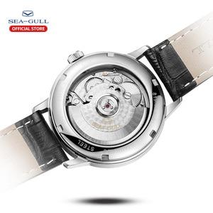 Image 3 - Seagull мужские часы автоматические механические часы Классическая серия Бизнес повседневные водонепроницаемые сапфировые часы 519.12.6061