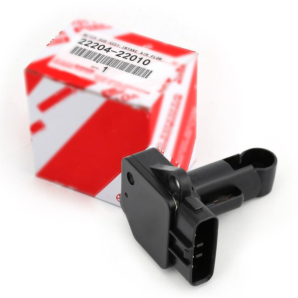 Mass Air Flow Meter Sensor 22204-22010 Fit For DENSO Toyota Lexus Scion Pontiac