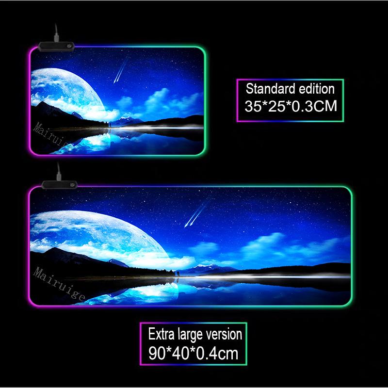 Mairuige фантазия ночная сцена звездное небо игра rgb большой