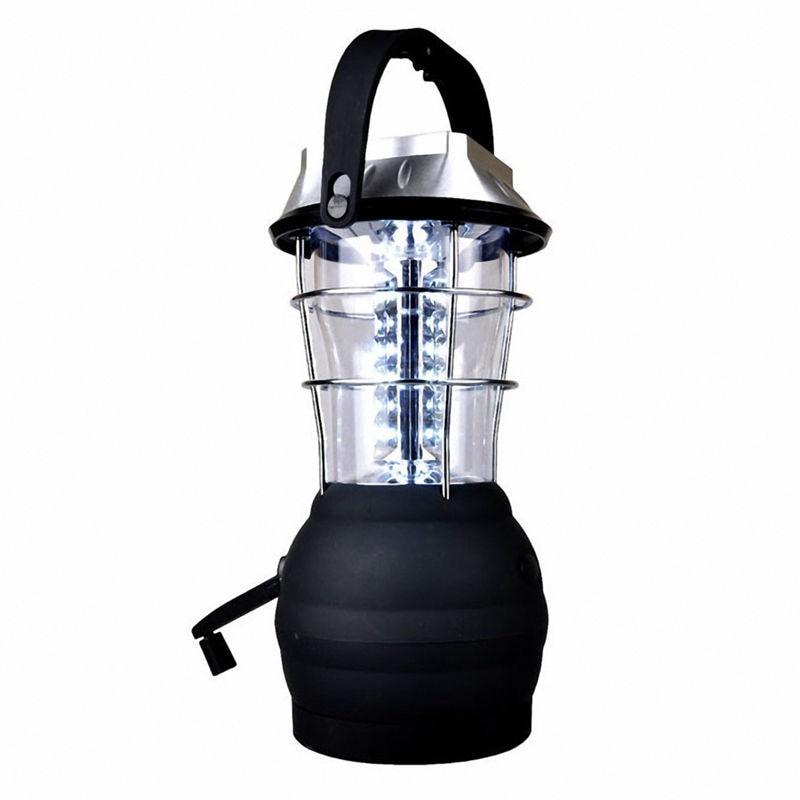 EASY-Solar Lantern 5 Mode Hand Crank Dynamo 36 LED Rechargeable Camping Lantern Emergency Light, Ultra Bright LED Lantern  - Cam