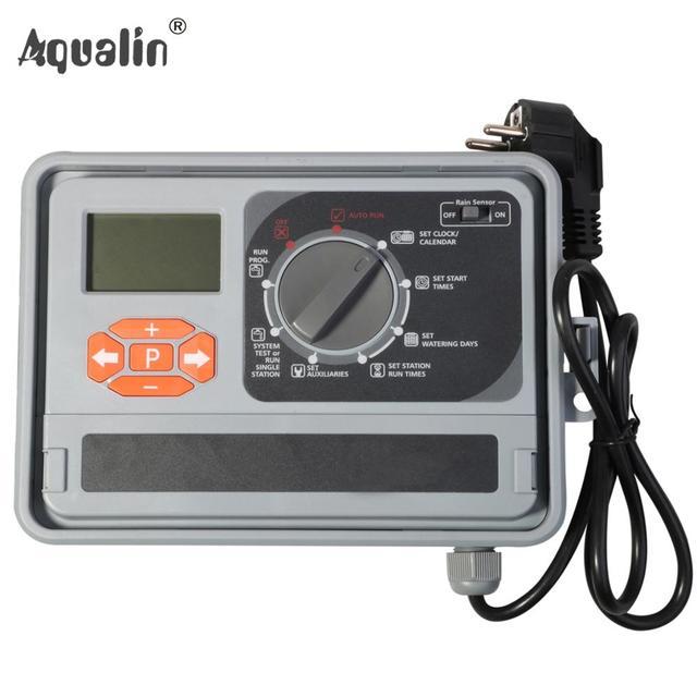 11 스테이션 가든 자동 관개 컨트롤러 eu 표준 내부 변압기와 물 타이머 급수 시스템 #10469