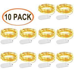 Led Fairy Lights, 10 Pack 1m 1