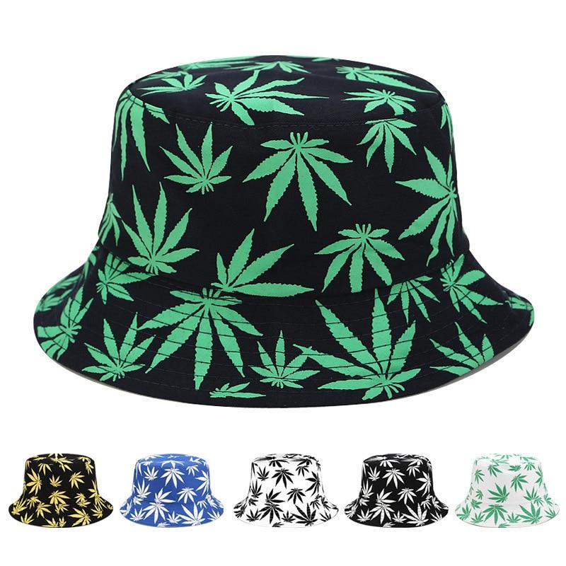 Panama Hemp Bucket Hat Hip Hop Fisherman Hat Men Women Outdoor Summer Casual Cotton Bob Chapeau Visor Bucket Cap