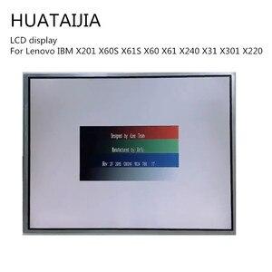 Original LCD Display Matrix LAPTOP For Lenovo IBM levono thinkpad LCD IBM X201 X60S X61S X60 X61 X240 X31 X301 X220 lenovo lcd(China)