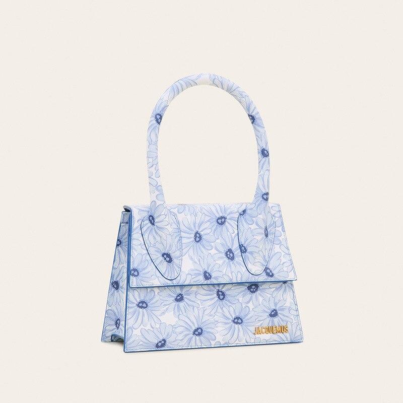 Бренд J женская сумка с цветочным принтом INS модная мини сумка повседневная сумка через плечо сумки мессенджеры для женщин|Сумки с ручками|   | АлиЭкспресс