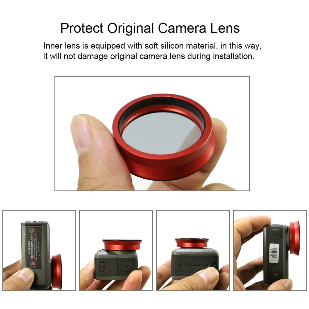 PULUZ CPL Lens Filter for DJI Osmo Action Camera Lens Filter Cover CPL Filter