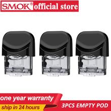 3 sztuk oryginalny SMOK Nord wymiana Pod 3ML Atomizer Tank bez cewki parownik dla E papieros SMOK Nord Pod system zestaw Vape tanie tanio Wymienne Z tworzywa sztucznego