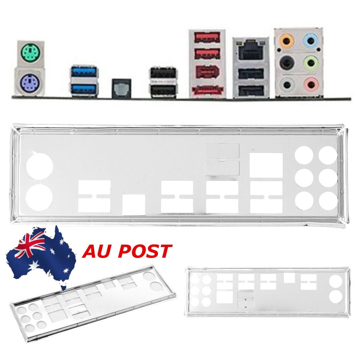 Original IO I//O Shield Back Plate BackPlate Blende Bracket for ASUS X99-A II RE