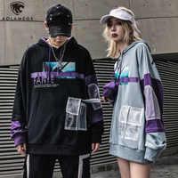 Aolamegs sweat à capuche pour homme poche drôle hommes à capuche pull Cool photos imprimer surdimensionné Style sweat automne Streetwear Couple
