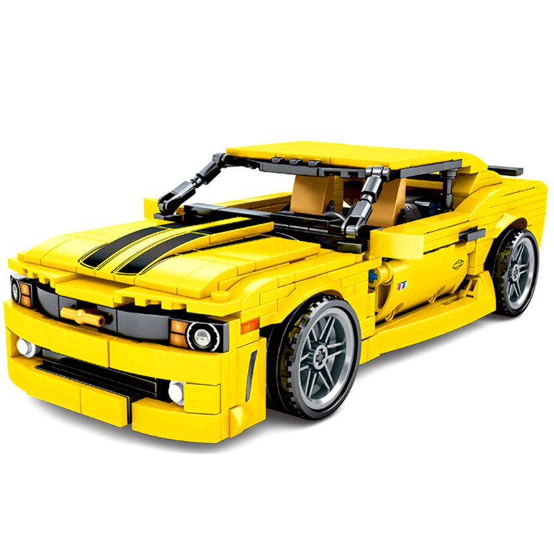 NEW Technic Creator Expert Bumblebees Camaro Cars Building Blocks Sets Bricks Compatible Classic GT Model Children Toys Gift