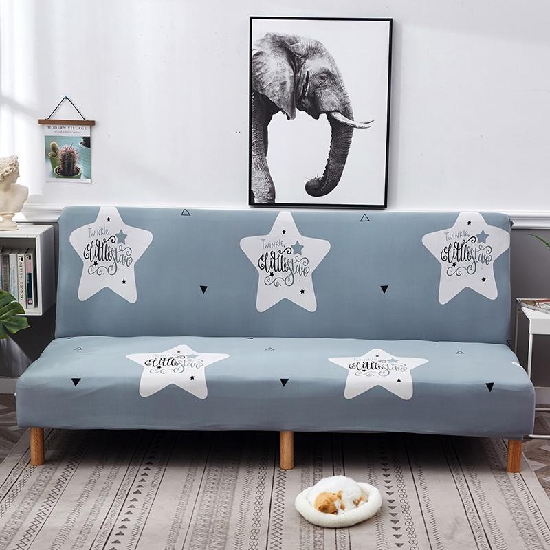 Stretch Cover Armless Sofa Bed Wrap