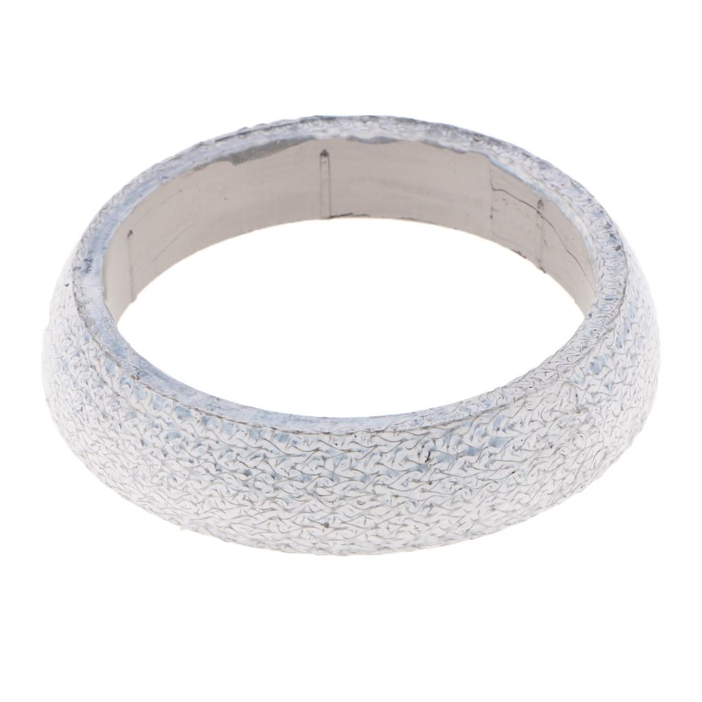 Junta de rosquilla de grafito de tubo de escape de 67mm de diámetro anillo de sello de silenciador