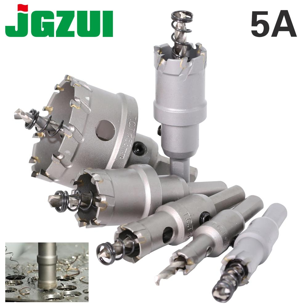 1 Pc 5A Carbide Tip TCT Drill Bit Hole Saw 12-150mm Drill Bit Set Hole Saw Cutter For Stainless Steel Metal Alloy Drilling