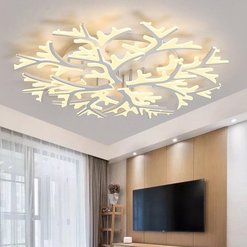 Lustre Led pour salon chambre maison lustre décor moderne Led plafonniers lustre lampe éclairage lustre