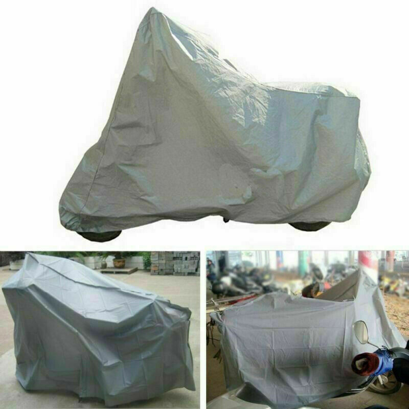 Full Motorcycle Covers Home Outdoor Anti-UV Motorbike Dust Proof Motor Bike Scooter Protection Covering Rain Cover FK88
