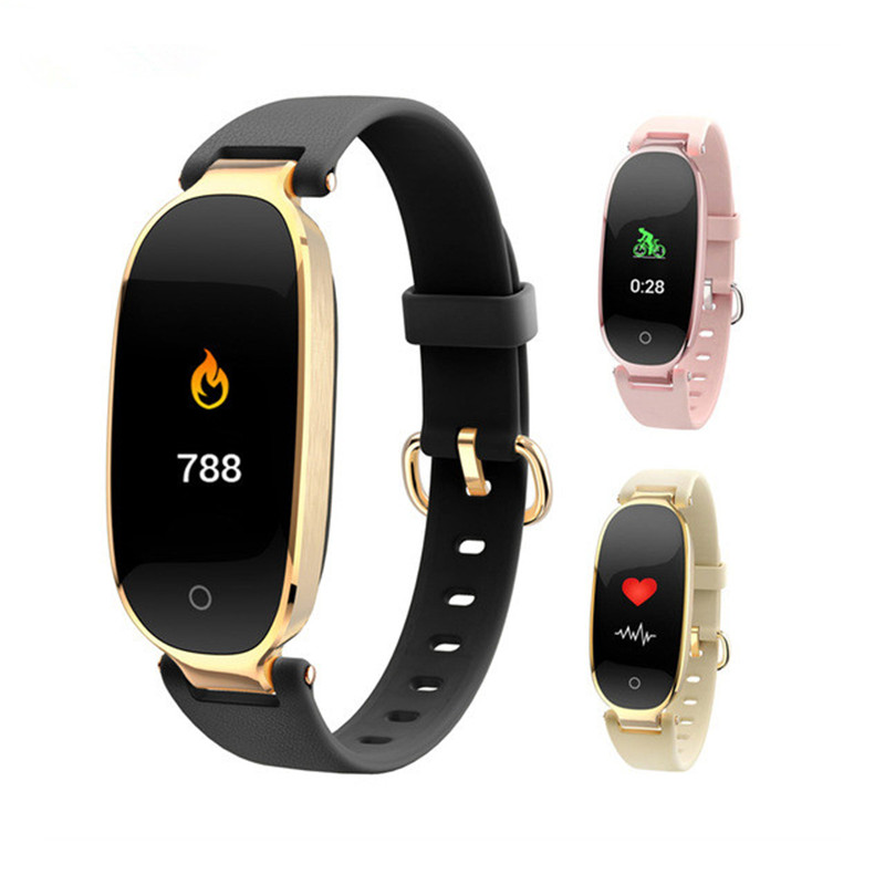 2020 Smart Wristbands Color Screen Sport Bracelet Heart Rate Monitor Fitness Band Gift To Lady Fitness Watch Men Woman Buckle