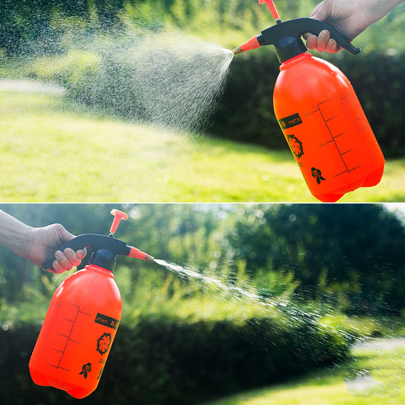 2L Capacity Handheld Watering Can Air Pressure Watering Can Watering Can Sprayer Spraying Air Pressure Can