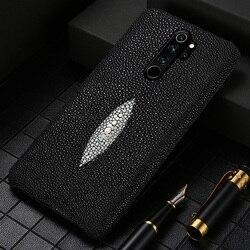 Asli Mutiara Goura Mi Kulit Phone Case untuk Xio Mi Merah Mi Note 8 PRO 8T 7 8 Cover untuk Xiao Mi Mi 10 Pro 8 9 Lite 9T Catatan 10 Pro A3