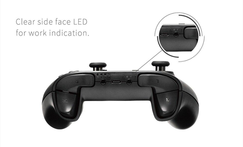 gamepad bluetooth sem fio para interruptor pc