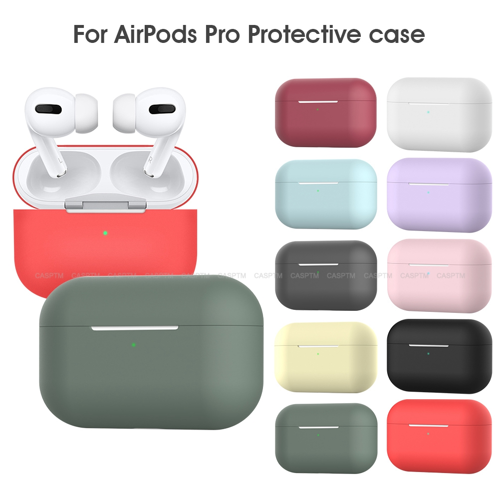 Lovely Coloful Silicone TPU Bluetooth Wireless Earphone Case For Airpods Pro Protective Cover Skin Accessorie For Airpods 3 2019