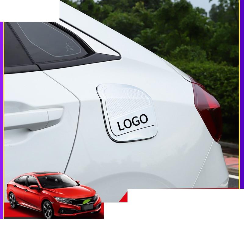 2pcs Rear Door Window Triangular Decorator Trim Cover For Honda Civic 2016-2017