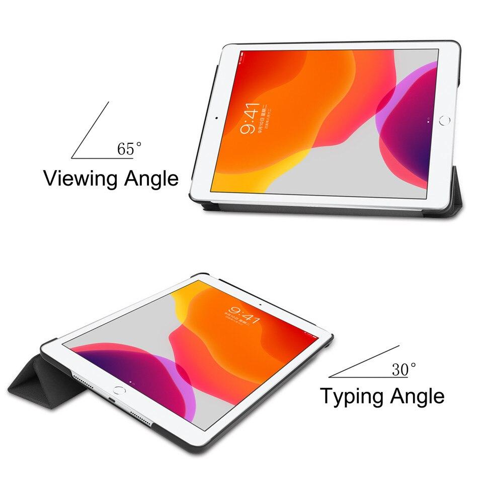 2020 A2198 10.2 For 2019 iPad Cover iPad for 8th Case A2232 Smart 10.2 Apple Funda A2200
