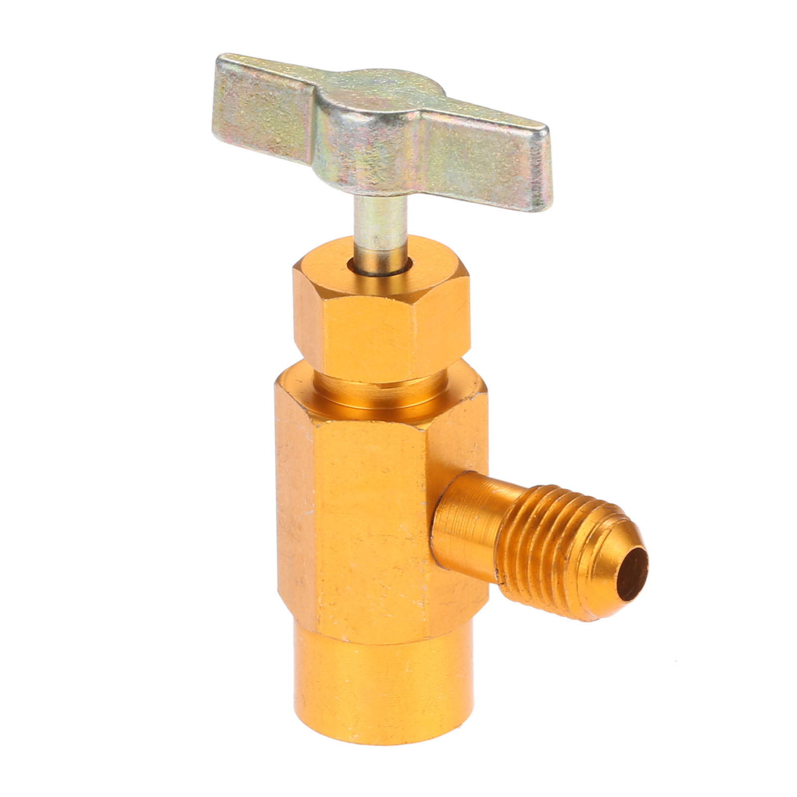 <font><b>R134a</b></font> <font><b>Can</b></font> Tap Dispenser For Use With Self-Sealing Designed <font><b>Cans</b></font> <font><b>Refrigerant</b></font> Bottle Opener Thread Cooling Pipe Connection Thread image