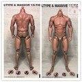 1:6 мускулистый и сильный солдат, подходящий для злодеев, арнольдов и других кукол, модель в наличии
