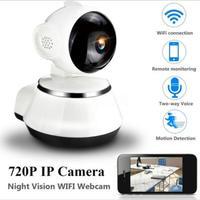 720P HD беспроводная Wifi ip-камера для домашней безопасности, камера наблюдения, объектив 3,6 мм, широкоугольная камера для помещений, поддержка н...